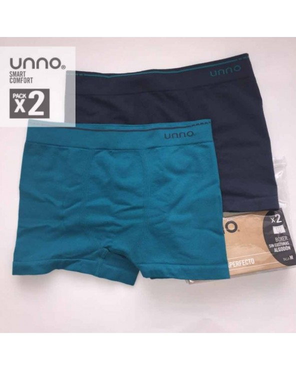 PACK 2 BOXERS UNNO UH102